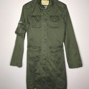 Miss Sixty Green Utility Jacket